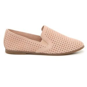 Lucky Brand Blush Pink Carthy Loafer Slip On Flat
